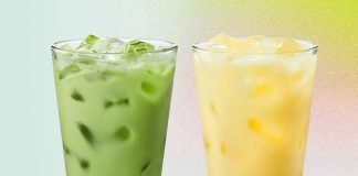 Starbucks New Non-Dairy Beverages Pineapple Matcha Drink And Golden Ginger Drink