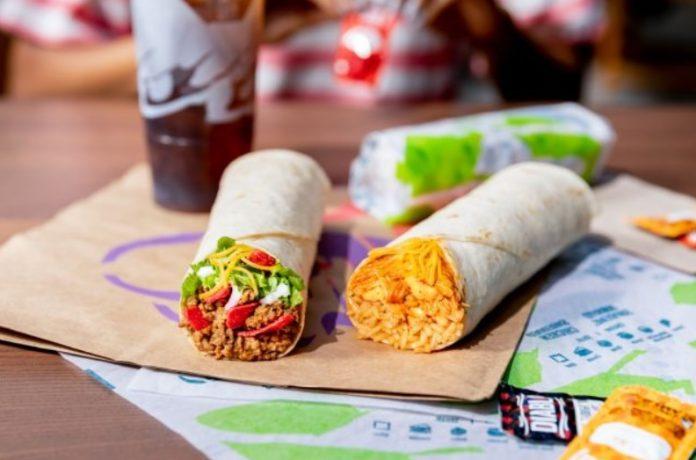 Taco Bell new Loaded Taco Grande Burrito and Chipotle Chicken Grande Burrito hero