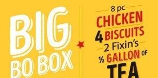 Bojangles' Big Bo Box is Back hero
