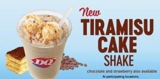 New Tiramisu Cake Shake At Dairy Queen