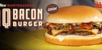 New Whataburger BBQ Bacon Burger