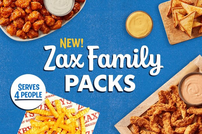 New Zax Family Packs hero