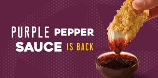 Purple Pepper Sauce Is Back At Church's Chicken