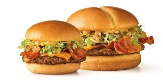 Sonic New Sweet 'n Tangy Bacon Cheeseburger And Slinger