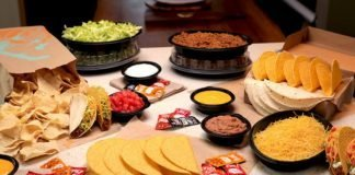 Taco Bell Releases New At Home Taco Bar