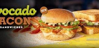 Whataburger Avocado Bacon Sandwiches