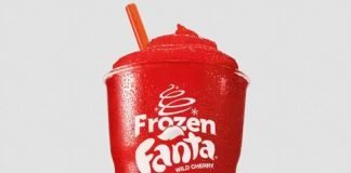 Burger King New Frozen Fanta Wild Cherry