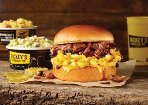 Dickey's new Brisket Double Cheese Sandwich