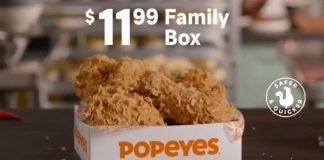 Popeyes Offers New $11.99 Family Box For A Limited Time