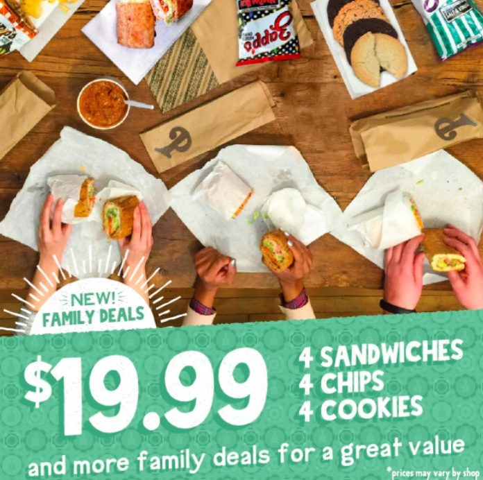 Potbelly Whips Up New Family Meal Deals