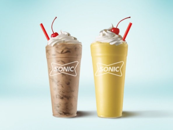 Sonic Releases New Brownie Batter Shake And Brings Back Yellow Cake Batter Shake
