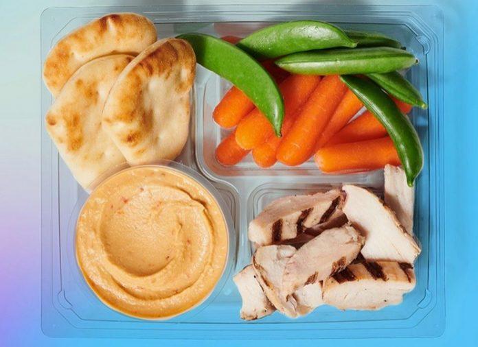 Starbucks Adds New Chicken And Hummus Protein Box