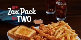 Zaxby's new Zax Pack for Two hero