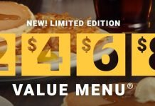 2468 Value Menu Is Back At Denny's