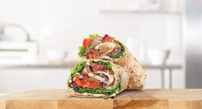 Arby's Adds New Jalapeño Bacon Ranch Chicken Wrap Wrap As Part Of New Market Fresh Wraps Lineup