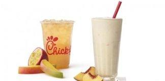 Chick-fil-A Adds New Mango Passion Tea Lemonade, Welcomes Back Peach Milkshake