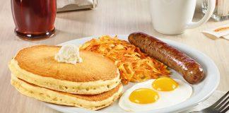 Denny's new Hearty Breakfast Slam hero