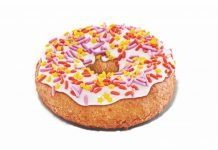 Dunkin' new Celebration Donut
