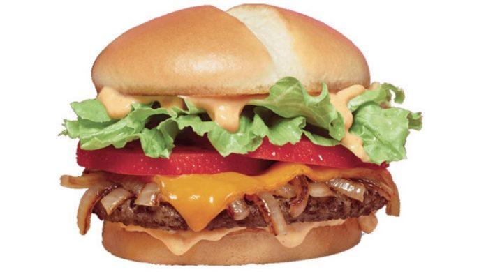 Jack In The Box New Southwest Cheddar Cheeseburger