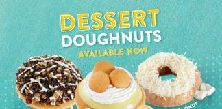 Krispy Kreme Adds Banana Pudding, Coconut Cake, And Mississippi Mud Pie As Part Of New Dessert Doughnuts Menu