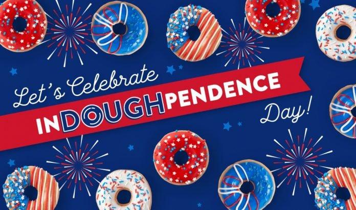 Krispy Kreme Releases New Indoughpendence Day Donuts