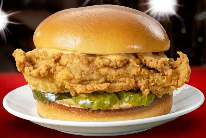 Lee's Famous Recipe Chicken Adds New Chicken Sandwich To The Menu