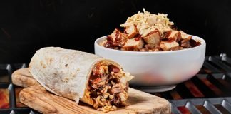 Moe's New BBQ Burrito And Bowl