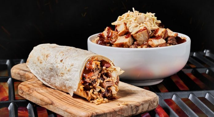 Moe's New BBQ Burrito And Bowl