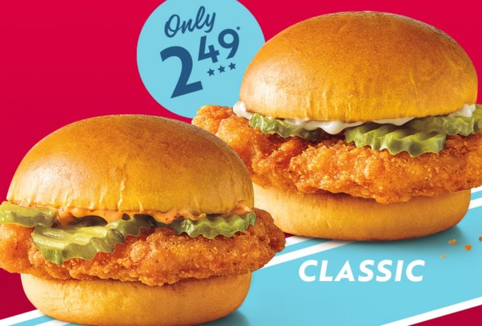 Sonic New Classic And Spicy Chicken Slingers