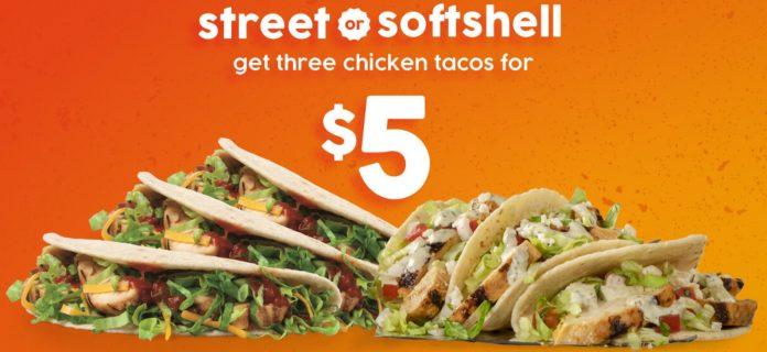 Taco John's New $5 Bundles Deals hero