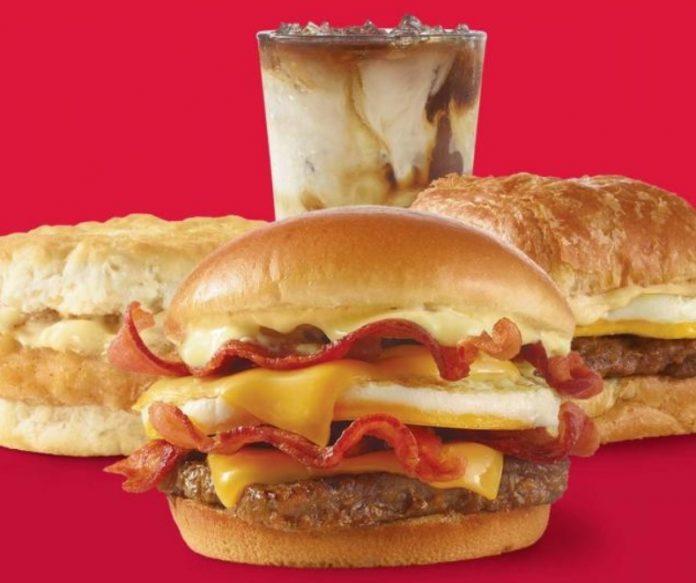 Wendy's New Buy 1, Get 1 For $1 For Breakfast Deal hero