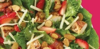 Wendy's New Summer Strawberry Salad