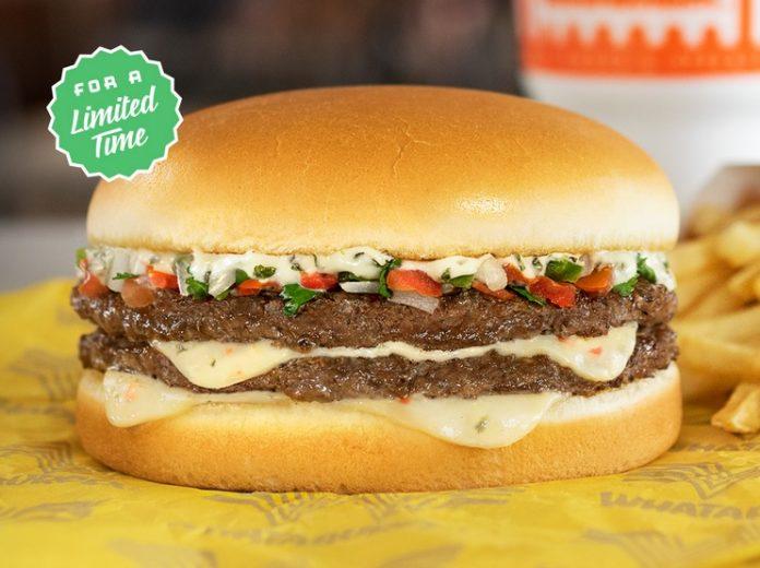 Whataburger new Pico de Gallo Burger