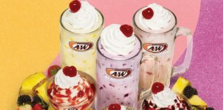 A&W Whips Up New Real Fruit Shakes and Sundaes
