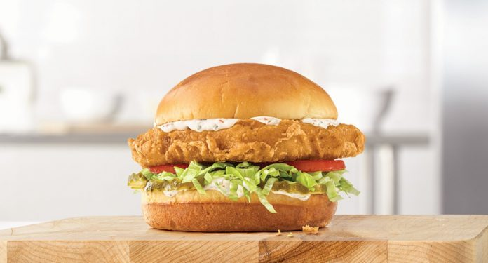 Arby's Debuts New Beer Battered Fish Sandwich