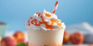 Auntie Anne's Reveals New Peach Lemonade Frost