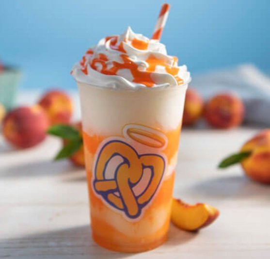 Auntie Anne's Reveals New Peach Lemonade Frost