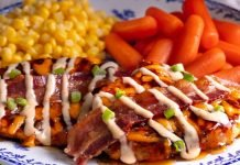 Cracker Barrel new Maple Bacon Grilled Chicken