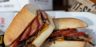Dickey's classic sandwich