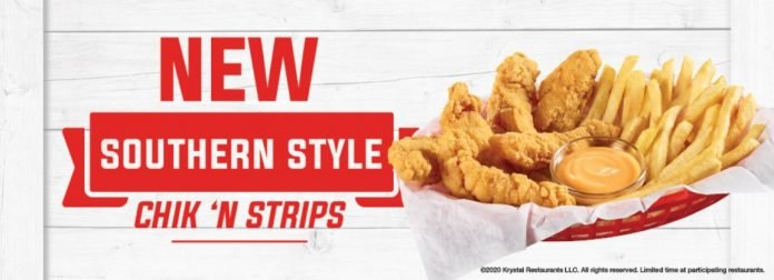 New Chik 'N Strips At Krystal