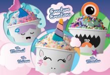 New Creature Creations Lineup At Baskin-Robbins