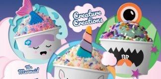 New Creature Creations Lineup At Baskin-Robbins