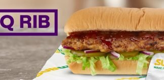 Subway Unveils New BBQ Rib Sandwich