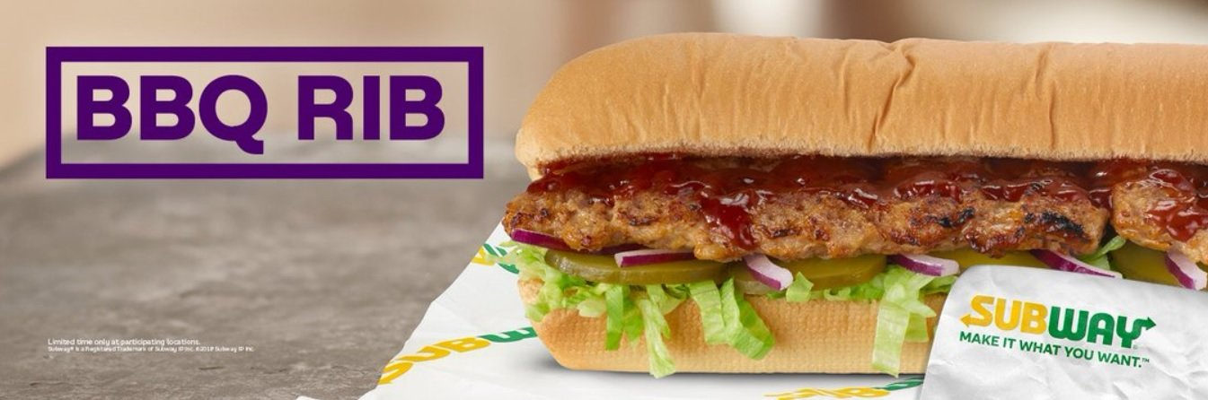 Subway Unveils New Bbq Rib Sandwich The Fast Food Post