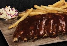 TGI Fridays Adds New Stout-Glazed Ribs