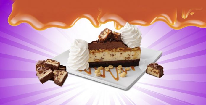 The Cheesecake Factory Launching New Chocolate Caramelicious Cheesecake Made with Snickers