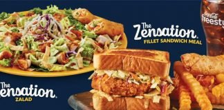 The Zensation Zalad And The Zensation Fillet Sandwich Are Back At Zaxby's