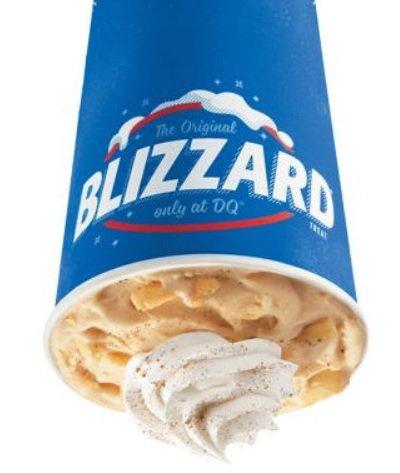Dairy Queen Adds New Caramel Apple Pie Blizzard, Welcomes Back Pumpkin Pie Blizzard