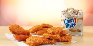 McDonald's Releases New Spicy Chicken McNuggets With New Mighty Hot Sauce And New Chips Ahoy! McFlurry