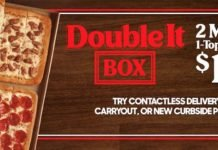 Pizza Hut Offers New Double It Box Pizza Deal For $12.99